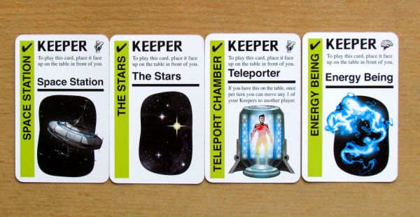 Star Fluxx - keeper cards