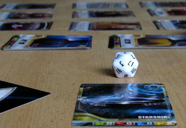 Star Trek: The Next Generation DBG - připravená hra