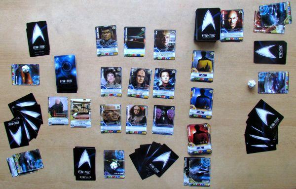 Star Trek: The Next Generation DBG - rozehraná hra