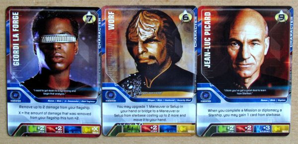Star Trek: The Next Generation DBG - karty