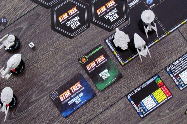 Star Trek: Fleet Captains - připravená hra