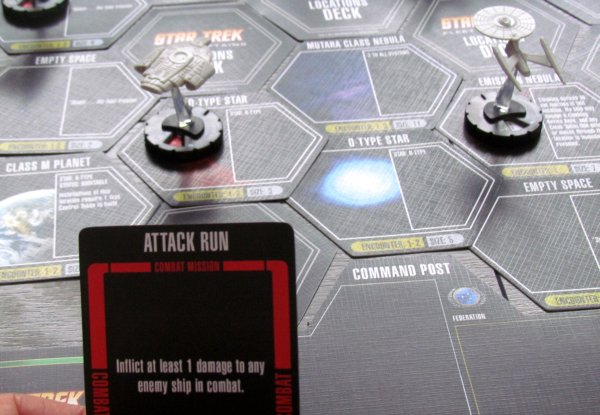 Star Trek: Fleet Captains - rozehraná hra