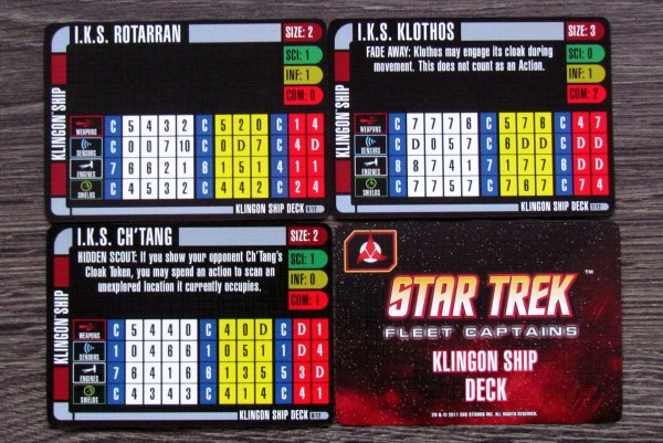 Star Trek: Fleet Captains - karty