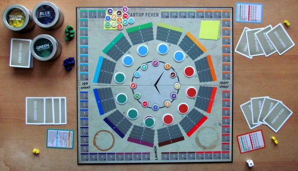 Startup Fever - připravená hra