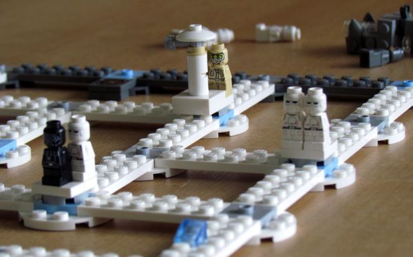 Star Wars: Battle of Hoth - rozehraná hra