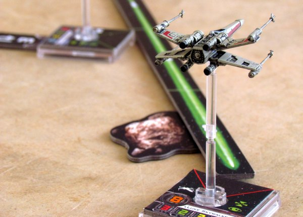 Star Wars: X-Wing Miniatures Game - game in progress