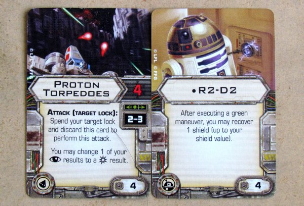 Star Wars: X-Wing Miniatures Game - cards