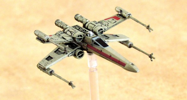 Board game review: Star Wars: X-Wing Miniatures Game - miniatures