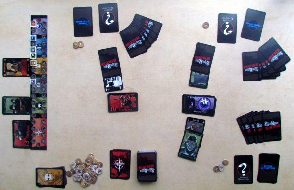 Steam Noir: Revolution - game in progress