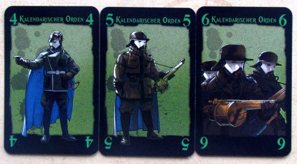 Steam Noir: Revolution - cards