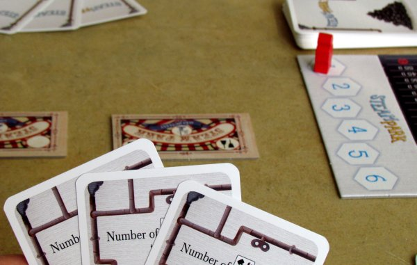 Steam Park - připravená hra