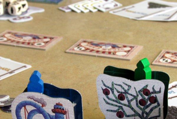 Steam Park - rozehraná hra