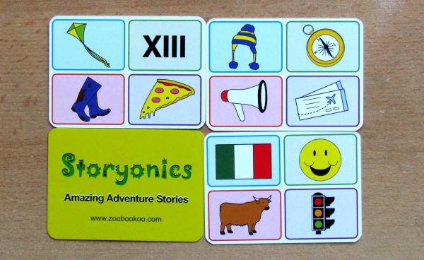 Storyonics - karty