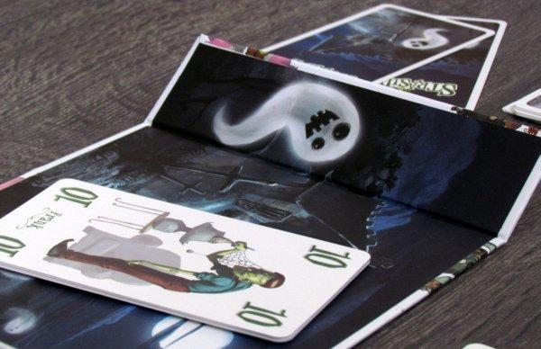 Strašidláci - rozehraná hra