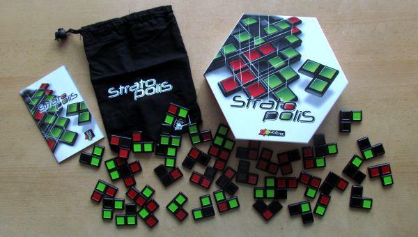 Stratopolis - balení