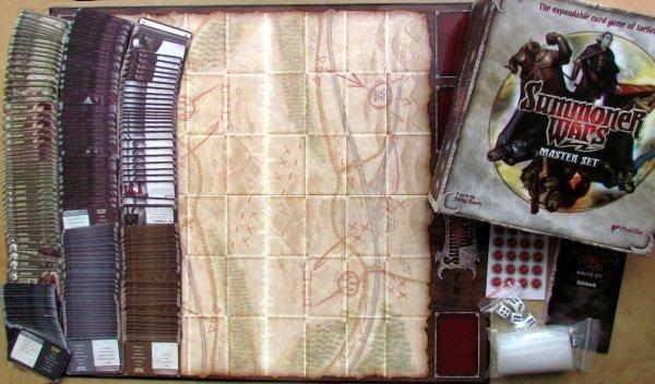 Summoner Wars: Master Set - balení