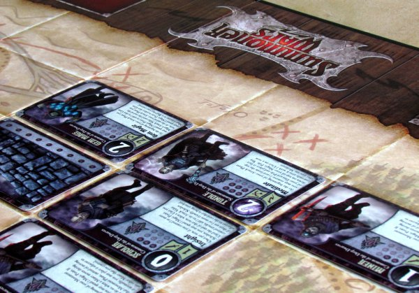 Summoner Wars: Master Set - game is ready