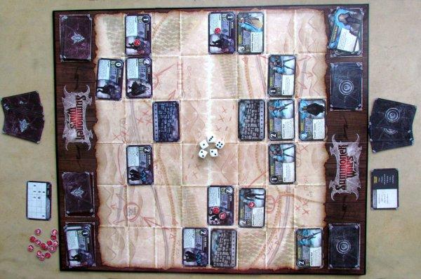 Summoner Wars: Master Set - rozehraná hra