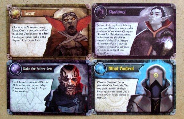Summoner Wars: Master Set - karty