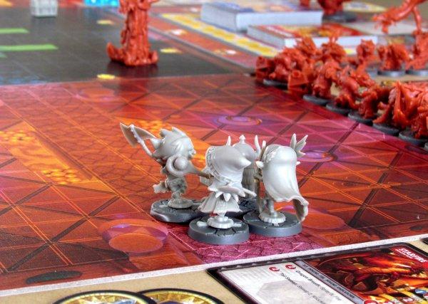 Super Dungeon Explore - připravená hra