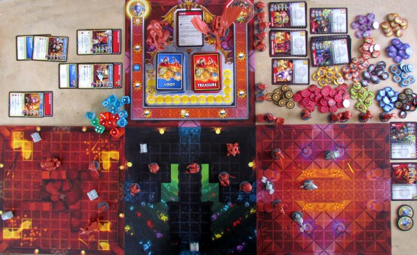 Super Dungeon Explore - rozehraná hra