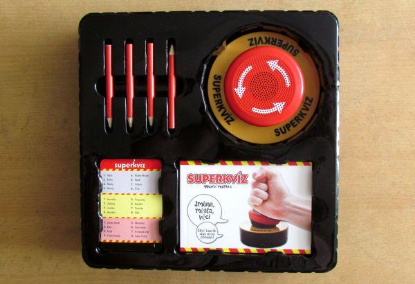 Superkvíz - krabice
