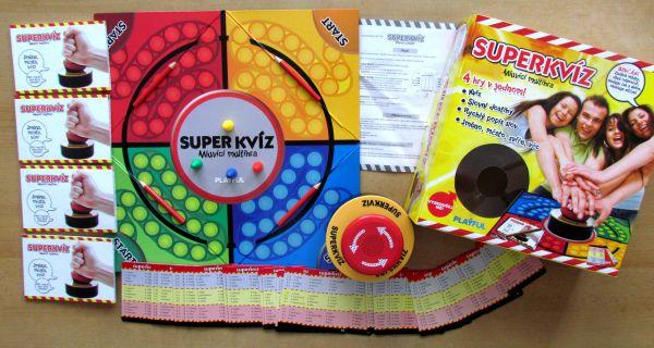 Superkvíz - balení