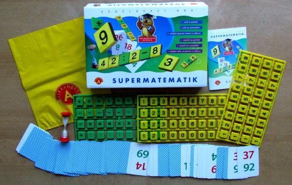 Supermatematik - balení