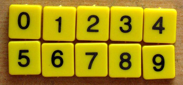 Supermatematik - žetony