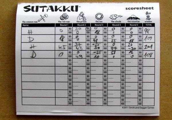 Sutakku - bloček