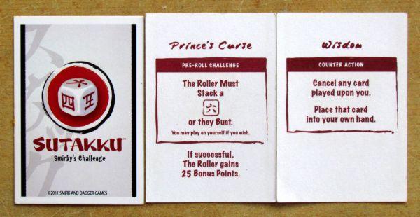 Sutakku - cards