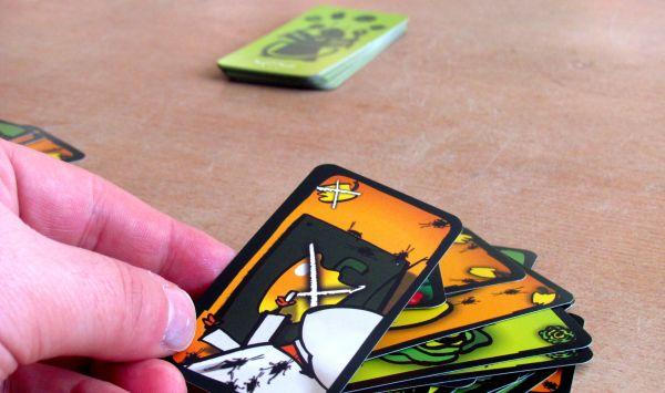 Švábí salát - rozehraná hra