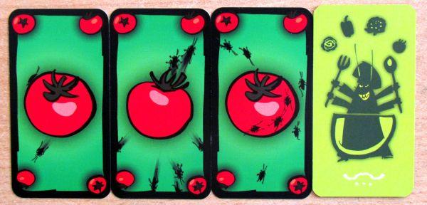 Švábí salát - karty