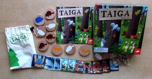 Taiga - balení