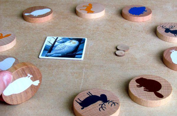Taiga - rozehraná hra
