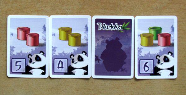 Takenoko - karty