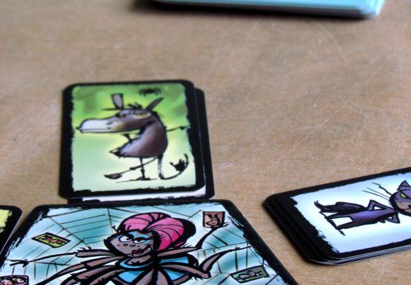 Tarantule Tango - rozehraná hra
