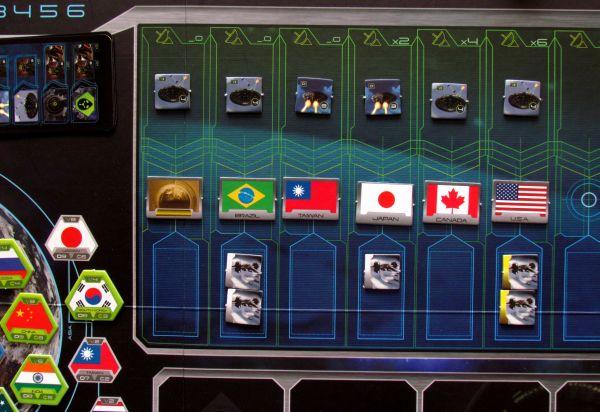 Target Earth - rozehraná hra