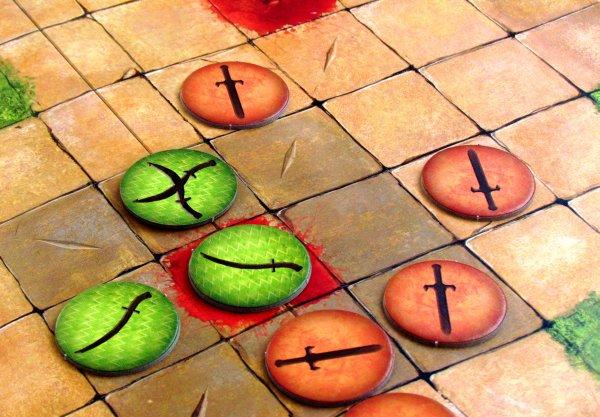 Tash-Kalar: Aréna legend - rozehraná hra