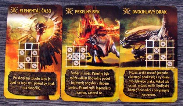 Tash-Kalar: Aréna legend - karty