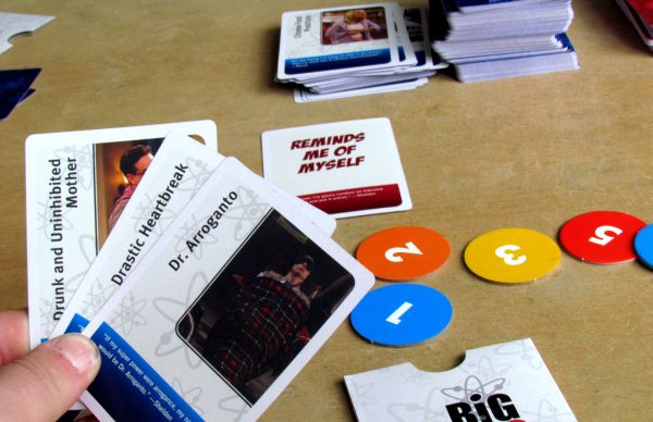 The Big Bang Theory: Party Game - game in progress
