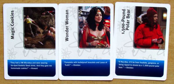 The Big Bang Theory: Party Game - cards