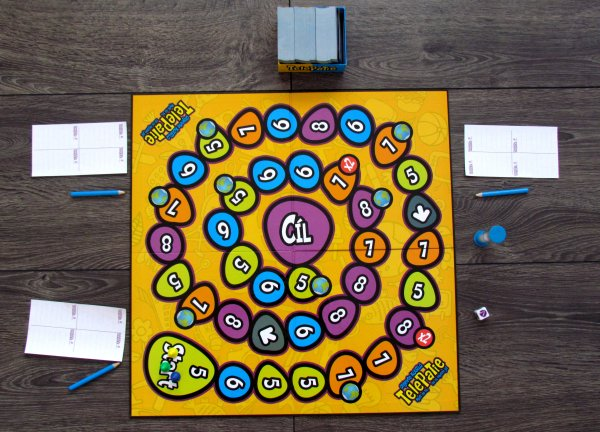 Telepatie - připravená hra