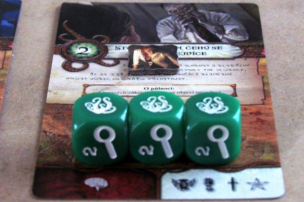 Temné znamení - rozehraná hra