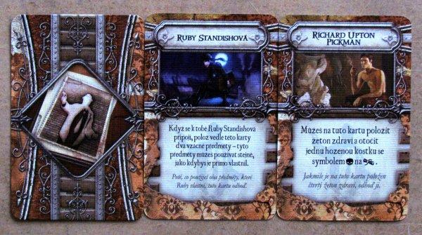Temné znamení - karty