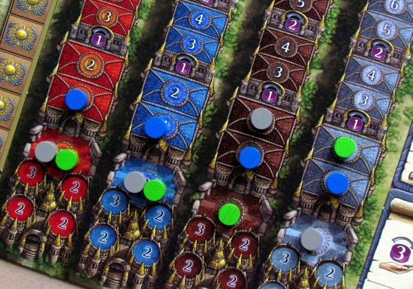 Terra Mystica - připravená hra