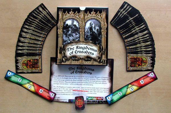 The Kingdoms of Crusaders - packaging
