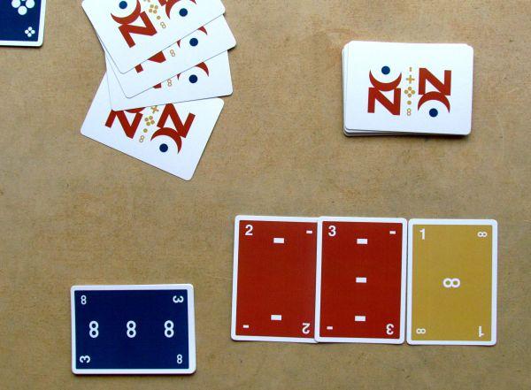 The Zont Deck - rozehraná hra