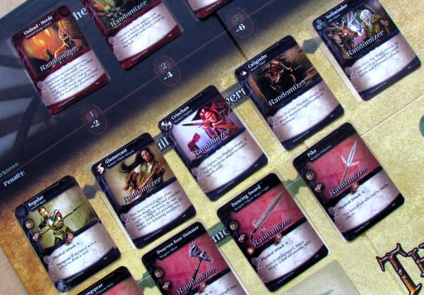 Photo: Thunderstone Advance - randomizers