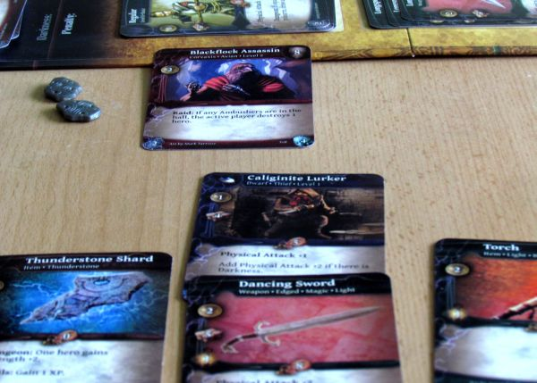 Thunderstone Advance - game in progress